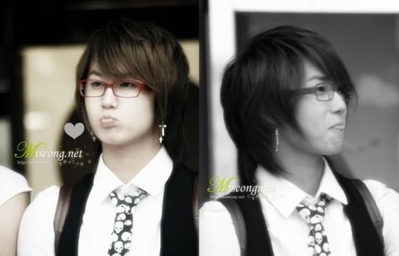 ss501 heo young saeng prince otter member